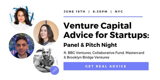Venture Capital Advice for Startups: Panel & Pitch Night