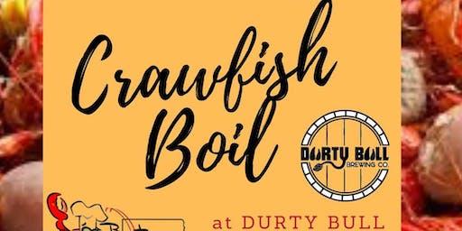 BRC Crawfish Boil at Durty Bull