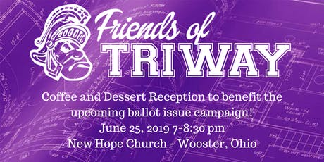 Friends of Triway Coffee and Dessert Reception tickets