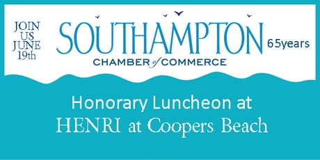 Honorary Luncheon at Coopers Beach tickets