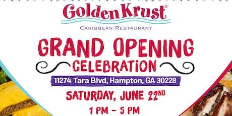 Golden Krust Hampton Grand Opening Celebration tickets