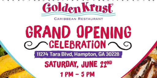 Golden Krust Hampton Grand Opening Celebration