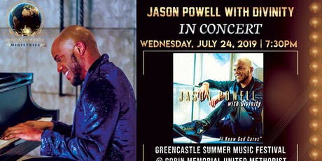 In CONCERT: Jason Powell with Divinity tickets