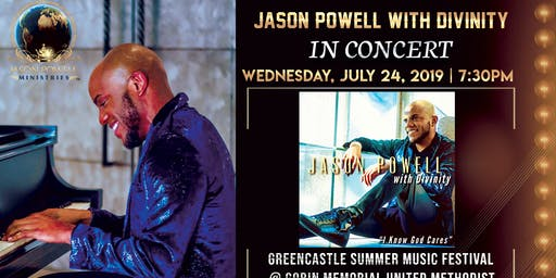 In CONCERT: Jason Powell with Divinity