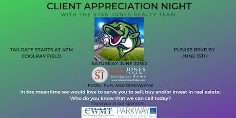 Client Appreciation Night with The Stan Jones Realty Team tickets