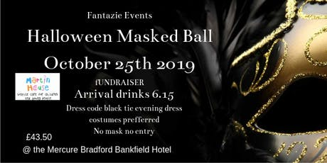 Halloween Masked Ball @ Mercure Bradford Bankfield Hotel October 25th 2019 tickets