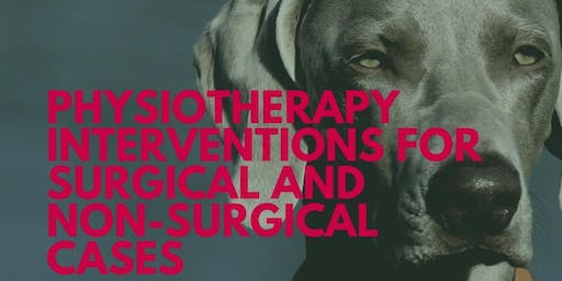 Free CPD Event - Physiotherapy Interventions For Surgical & Non-Surgical