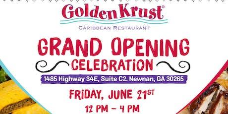Golden Krust Newnan Grand Opening Celebration tickets