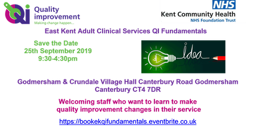 QI Fundamentals for East Kent Adult Clinical Services