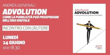 Advolution • Presentazione del libro di Andrea Giovenali  biglietti