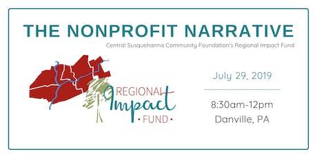 The Nonprofit Narrative tickets