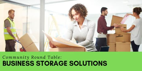Community Round Table: Business Storage Solutions tickets