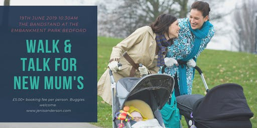 Walk & Talk Group Wellbeing Coaching for New Mums