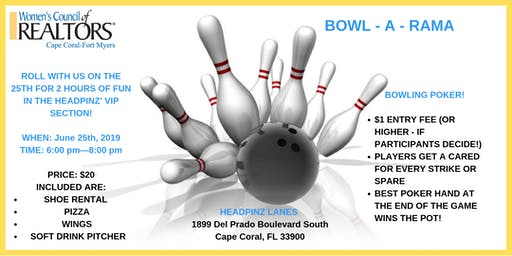 Bowl A Rama with Women's Council of REALTORS Cape Coral-Fort Myers