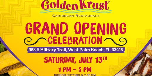 Golden Krust Military Trail Grand Opening Celebration