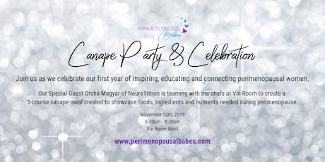 Canape Party & Celebration tickets