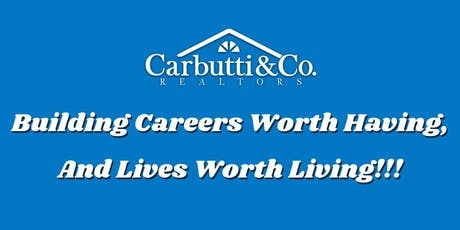 Real Estate Career Night! - Hosted by Carbutti & Co. Realtors tickets