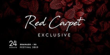 "Red Carpet Exclusive ""Festa oficial de encerramento"" ingressos"