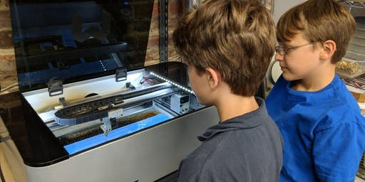 Laser Cutter Camp – Learn to Safely and Creatively use a Laser Cutter/Engraver