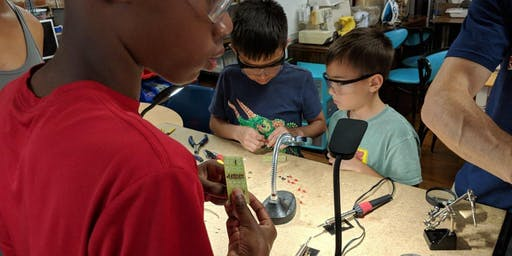 Electronics STEM Camp – Learn to Solder + Make Kits + Learn Basics of Electronics