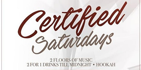 Certified Saturdays At Katra Lounge w/OPEN BAR tickets