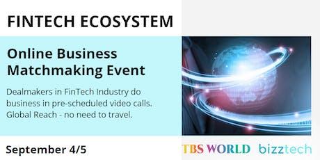 FinTech Ecosystem | September 4/5 tickets