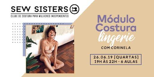 Sew Sisters: Módulo Costura Lingerie Intermediário