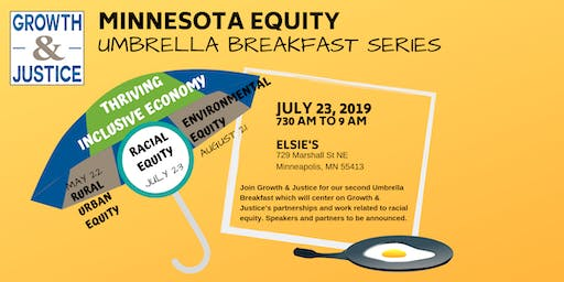 Growth & Justice Umbrella Breakfasts