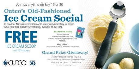 Ice Cream Social tickets