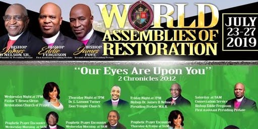 WAR Holy Convocation 2019