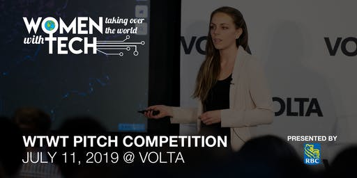 WTWT Pitch Competition 2019!