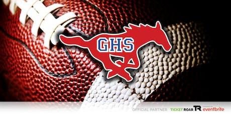Grapevine vs Creekview Varsity Football tickets