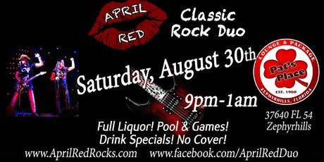 April Red is Back to Rock Pat's Place Bar in Zephyrhills! tickets