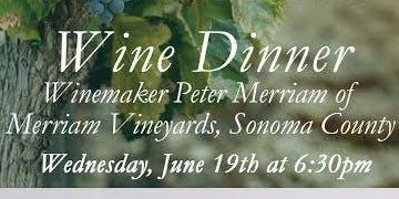 Peter Merriam Wine Dinner at Davio's Irvine