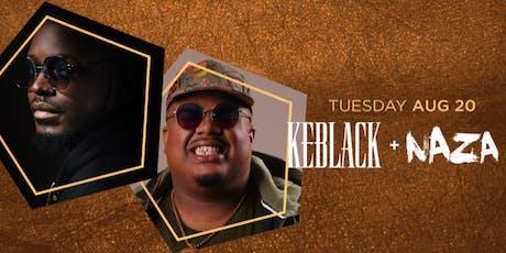 Keblack + Naza tickets