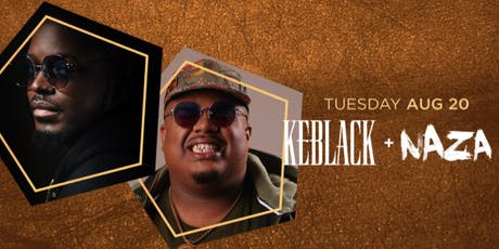 Keblack + Naza entradas
