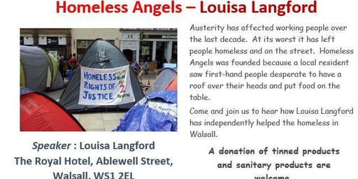 Homeless Angels - Louisa Langford