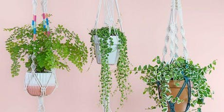 Coffee and Crafts: Macrame Planthanger workshop tickets
