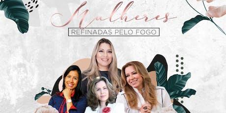 CONFERÊNCIA 2019-  MULHERES DO CÉU NA TERRA- Mulheres Refinadas pelo Fogo ingressos