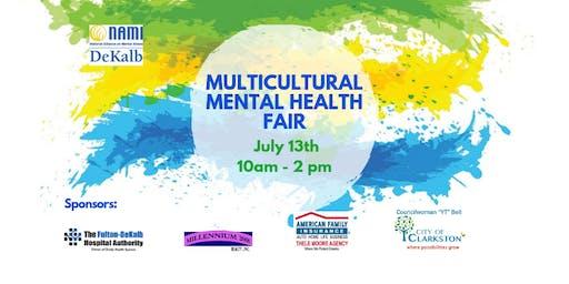 Multicultural Mental Health Fair