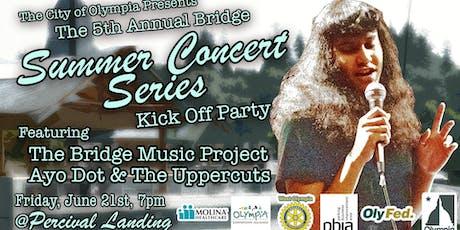 Foster parent recruiting at The Bridge Summer Concert Kick Off tickets