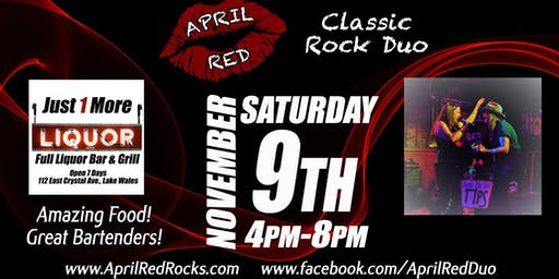 April Red debuts at Just 1 More Bar & Grill in Lake Wales!