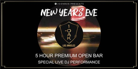 Joonbug.com Presents 1 OAK LA New Years Eve Party 2020 tickets