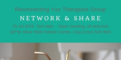 Reconnecting You Therapists Network 25 Jul 19