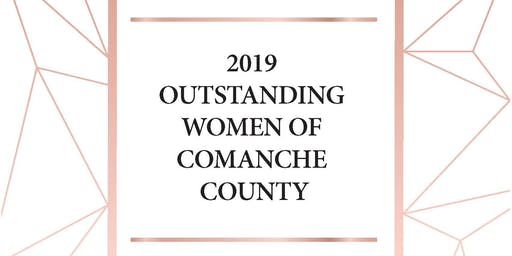 2019 MCSW Outstanding Women of Comanche County