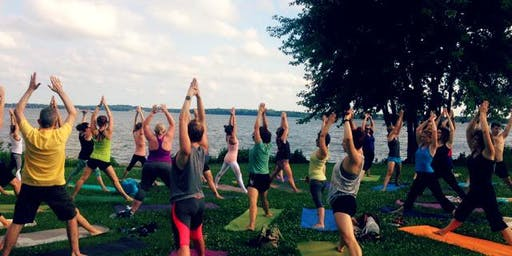 Sunset Pilates on The Point 6/20