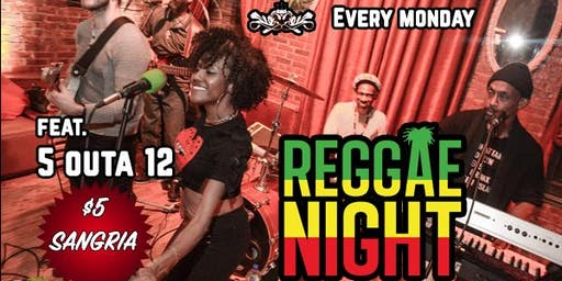REGGAE MONDAY @ VELVET BROOKLYN