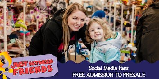 JBF Harrisburg/Hershey - Social Media Fans - FREE!