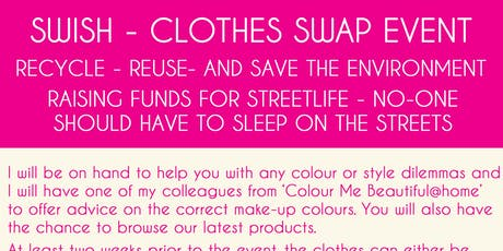 Swish Clothes Swap Event in aid of Streetlife tickets