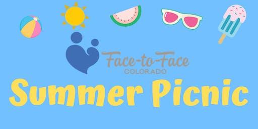 Face-To-Face Colorado Summer Picnic